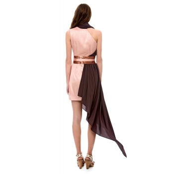 Asymmetric cocktail dress